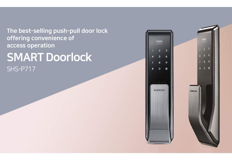 Khóa điện tử an toàn Samsung SHS-P717