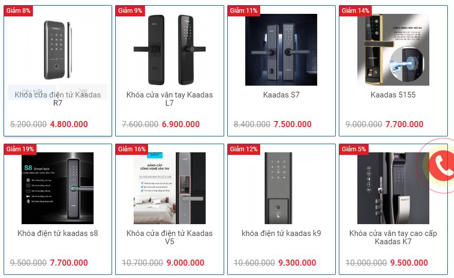Khóa cửa điện tử cao cấp Kaadas