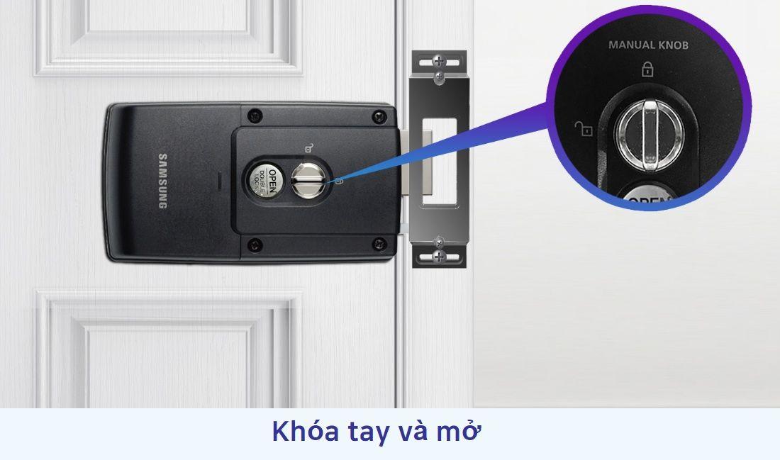 Khóa cửa thẻ từ Samsung SHS-1321 chính hãng