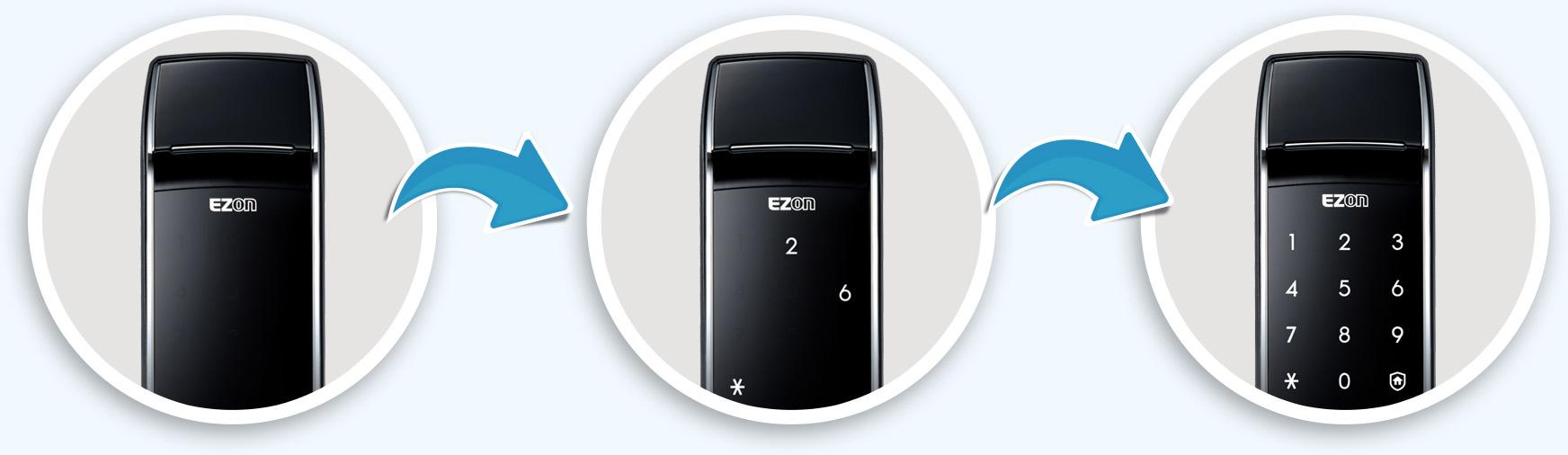 Khóa cửa thông minh Samsung SHS-2320 - Công nghệ hàng đầu