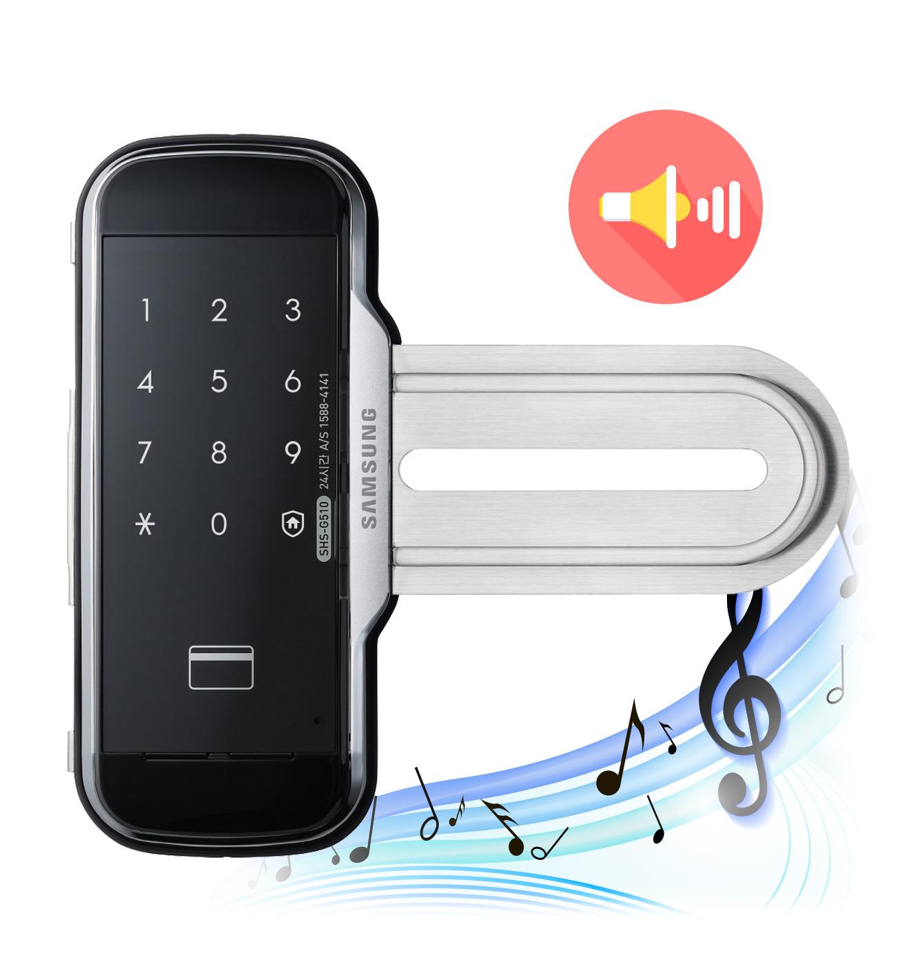 Samsung SHS-G517 kiểm soát âm lượng tốt