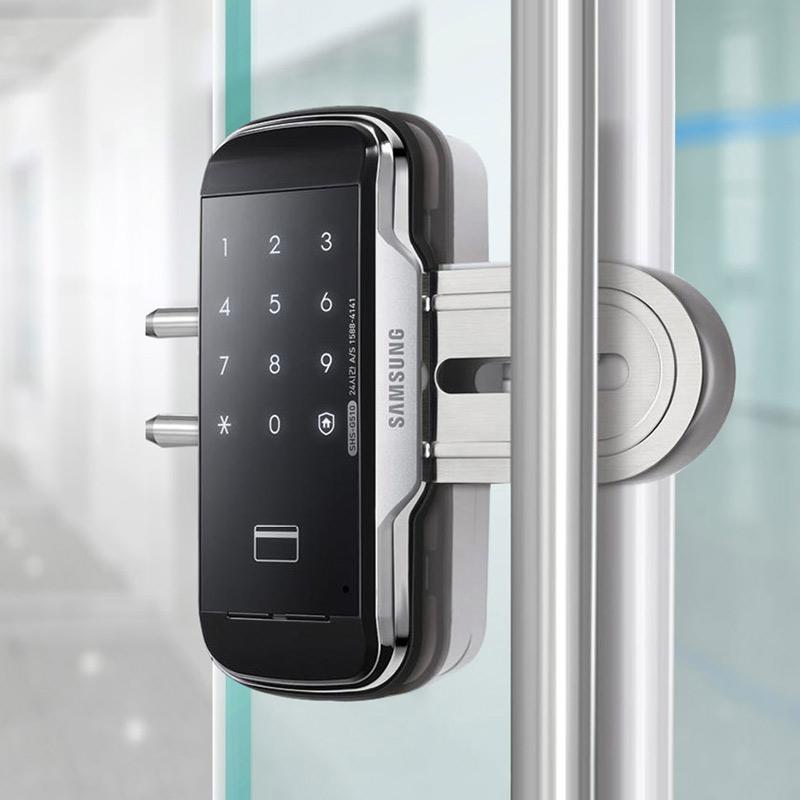 Đánh giá khóa cửa kính Samsung SHS-G517 chính hãng