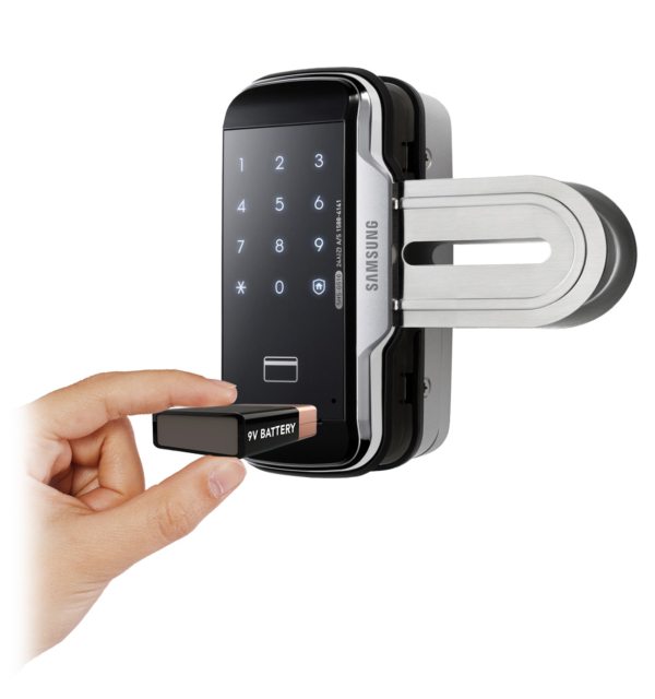 Khóa điện tử cho cửa kính Samsung SHS-G517