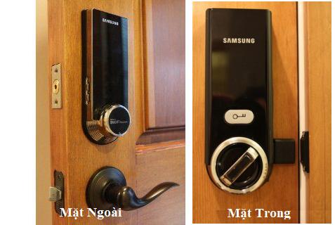 Lắp đặt khóa cửa điện tử Samsung SHS-3321 - giải pháp hoàn hảo