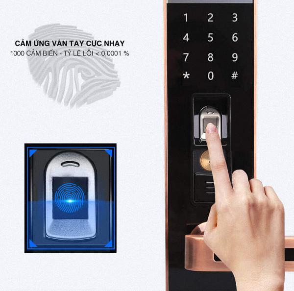 Khóa cửa vân tay, khóa điện tử hiện đại nhất 2020