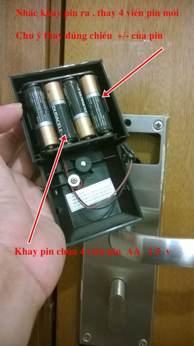 Giải đáp thắc mắc khi nào cần thay pin cho khóa cửa điện tử